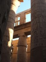 Light and shadow in Karnak by Magdyas