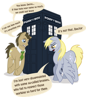 Derpy is a disappoint by GingerFoxy