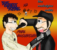 Nerd vs Critic by DanielaLaverne