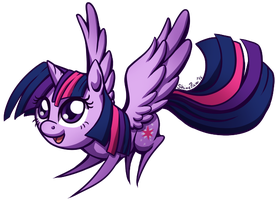Princess Twilight Sparkle chibi by ShinePawPony