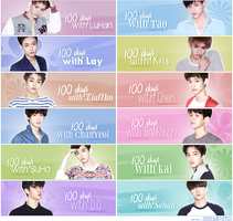 100 days with EXO [Sign pack] by Nhiholic