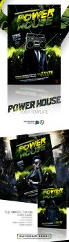 Power House Flyer Template by amorjesu