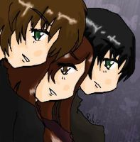 -+ Triple Trouble +- by relisabby