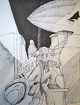 Inspector Fuchs - Airships and Fedoras by temp01