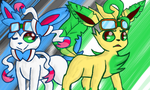 Sylvy and Leafy by B-Drawer