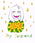 Undertale - Stay Determined by UltimateSakura1