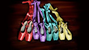 Colorful pointe by MariaMC