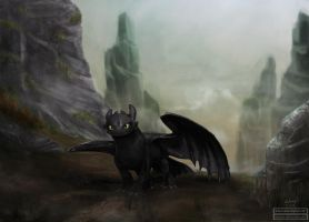 Where No One Goes | Toothless by blessyo4