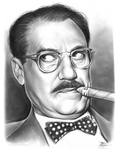 Groucho Marx by gregchapin