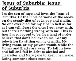 jesus of suburbia pt I by anjake04