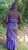 Long Spiral Coat by Faeriegem