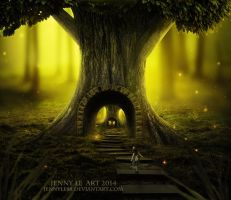 The pathway by JennyLe88
