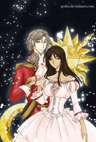 APH: Brazil and Portugal .:CLAMP style:. by GYRHS
