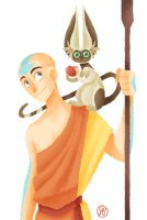 Aang by jessisamess