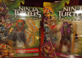 TMNT MOVIE TOYS: MIKE AND DON by TMNTFAN85