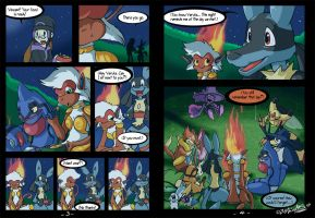 Riolu is Born - Page 3-4 by TamarinFrog