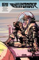Wild Blue Yonder - Issue 3 Cover by itemb