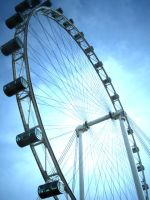 Singapore Flyer by ahmad0410