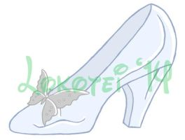 Graphic Design - Glass Slipper - 2014 by Lokotei