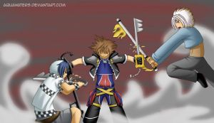 Kingdom Hearts 2 - Break it up by AquaWaters