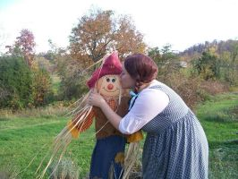 Dorothy and My Scarecrow by MandyDandy-02