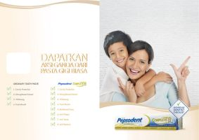 Print ad - Pepsodent Complete by justspectacle