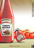masry ketchup flyer by eltolemyonly