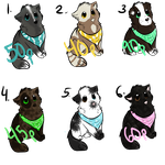 [OPEN] Adopt a Puppy! by MeMowMow