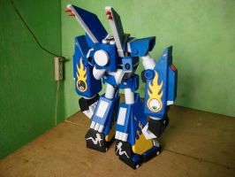 Megas XLR Project:Papercraft M.E.G.A.S. Complete 3 by MarcGo26
