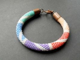 Rainbow Bracelet by Pastely