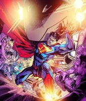 New 52 Superman by Fico-Ossio