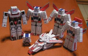 Skyfire, Jetfire by aim11