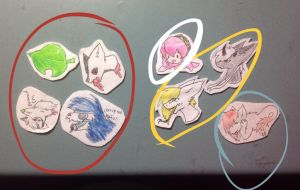 I has Organised my charms derp by Ozeisoul