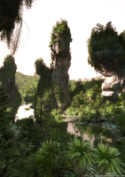 Avatar Fan Film Mountain Scene Test2© by Massi-San
