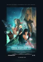 Final Fantasy VII Film Poster by C780162