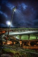 Stadium Light - Helsinki - Fall 2013 by hmcindie