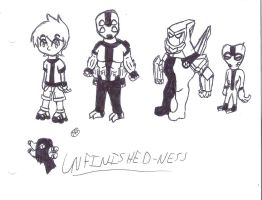 Ben 10 and stuff by uhnevermind