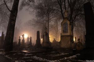 old cemetery II by Hlor
