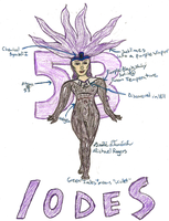 Element Superhero: Iodes by PsychoPyro813