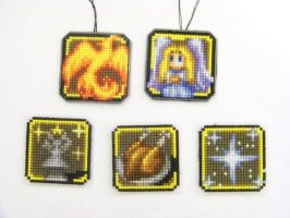 Shining Force III Icons by Blackmageheart
