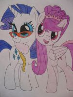 Request: Star Divine and Rarity!!! by TopazBeats