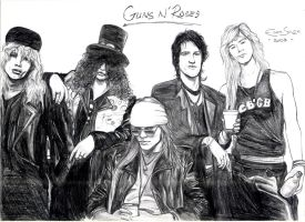 Guns N' Roses by edesign2007
