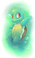Squirtle by coloured-prisms