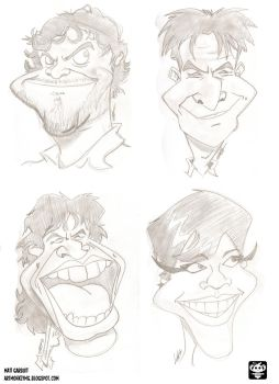 Caricatures by ARTMONKEYMG