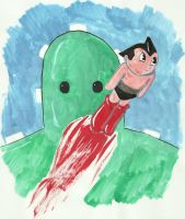Astroboy Cactus Coalition by jhames34