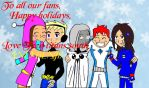 Titans souths christmas card by becci005
