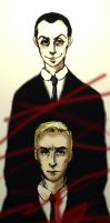 Moriarty and Moran by Shurf-Alucard
