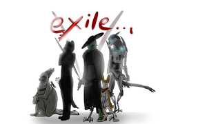 Scarlex- Exile Poster by Malbet