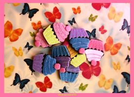 Butterfly Cupcake by Whatsername90