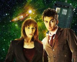 Doctor Who Wallpaper - 10th Doctor and Donna by WERA1166